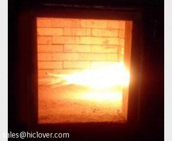 Double Combustion Chamber Incinerator